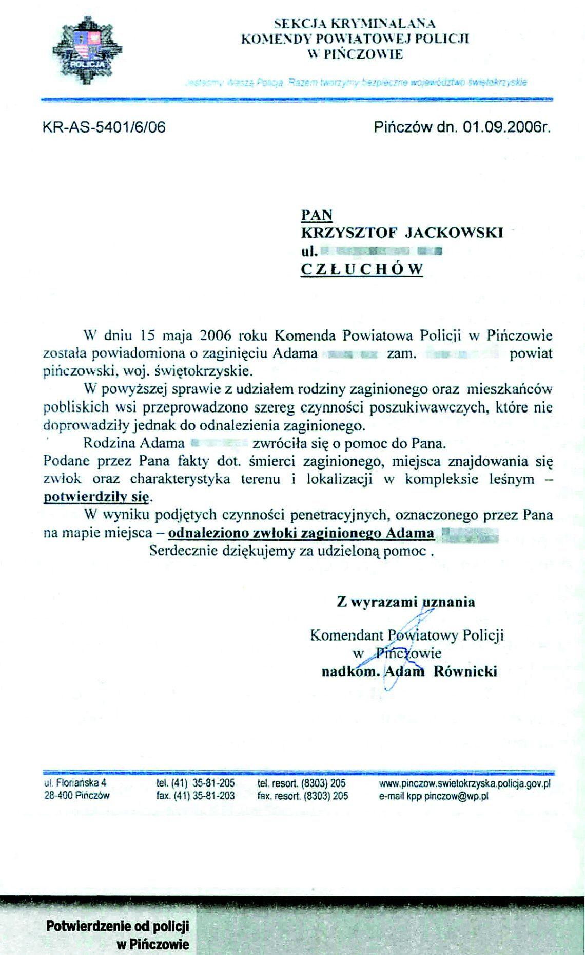 Kompromitujący atak Gazety Wyborczej na jasnowidza Krzysztofa Jackowskiego - NŚ 08/2013